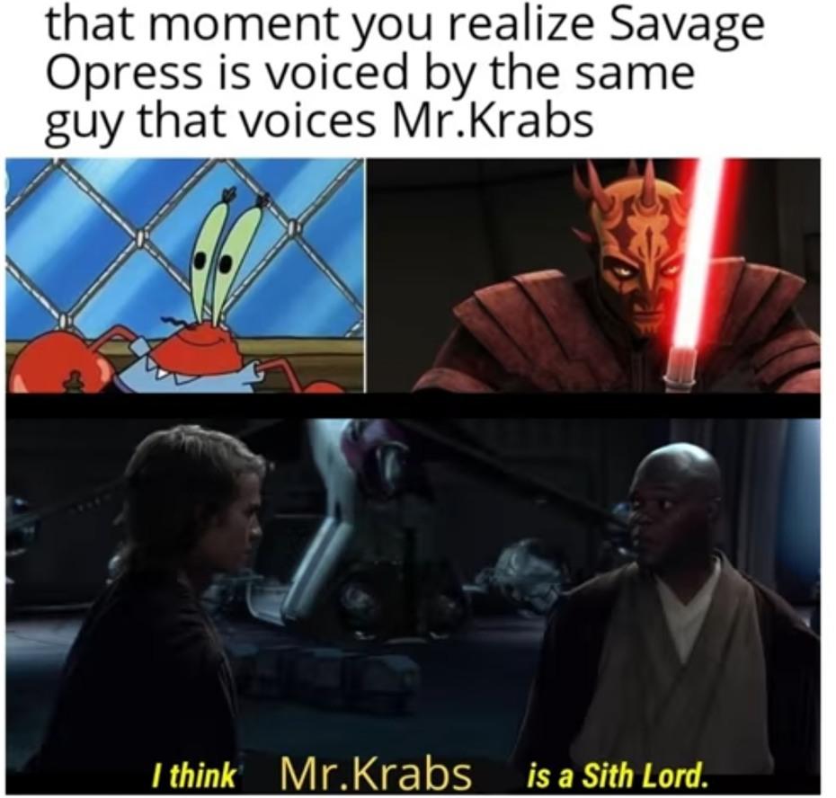 ohhhh yeah mr krabs - meme