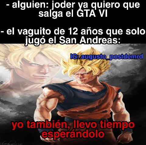 Joder los fan arts de Goku son buenísimos xd - meme