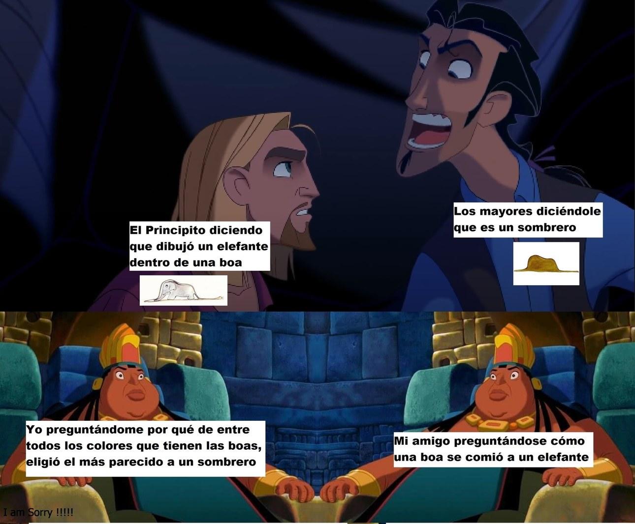 Momazos de literatura - meme