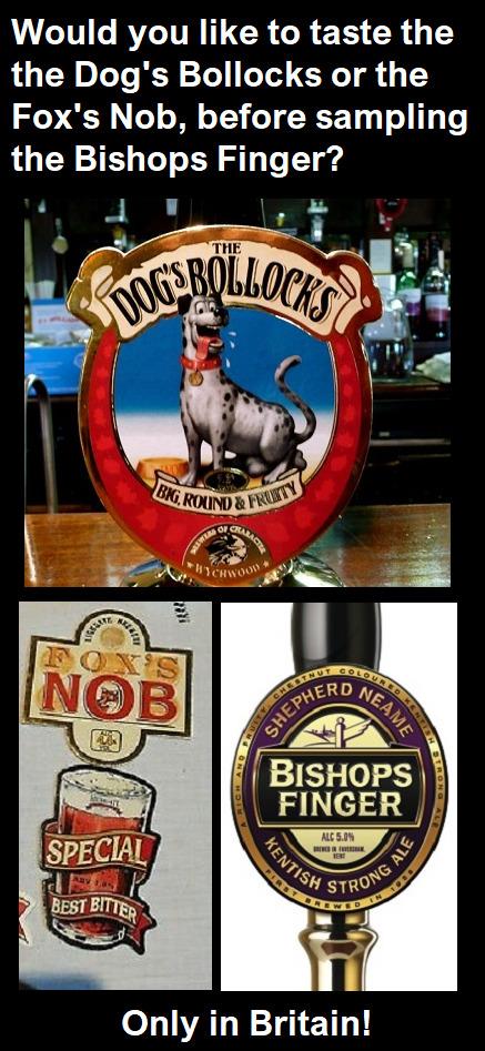 British beers - meme