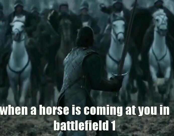 goddam horses - meme