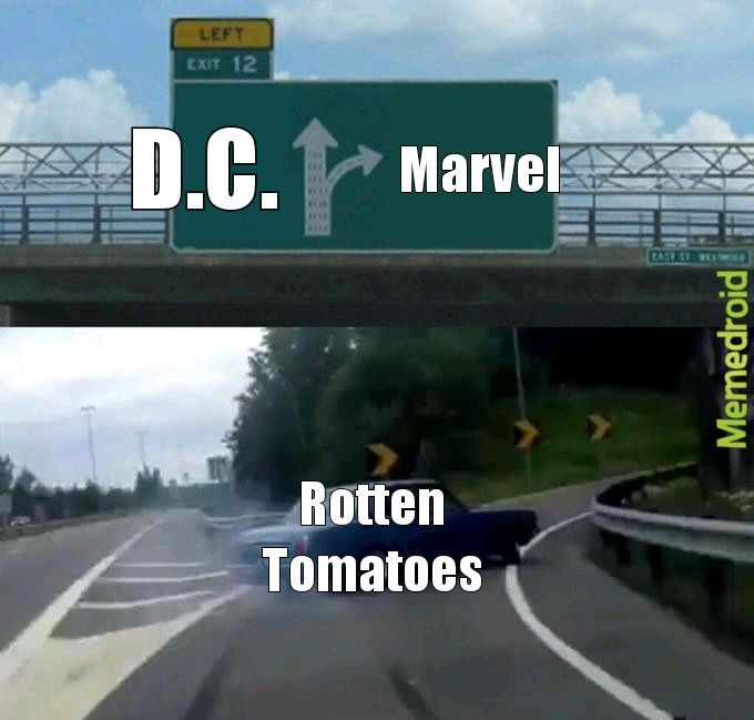 DC VS MARVEL - meme