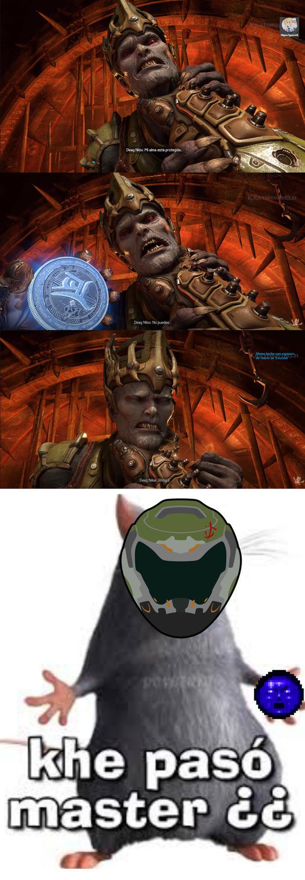La Soulsphere era el PNG más parecido que encontré al Medallón sagrado. - meme