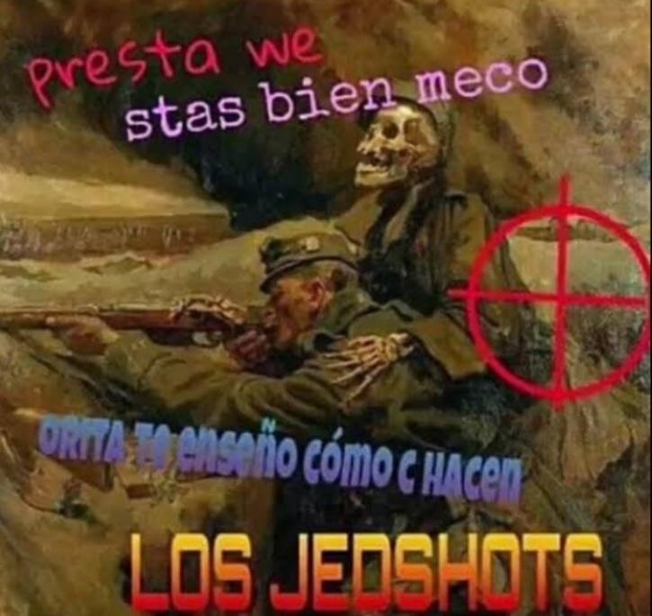 NO SABES HACER LOS JEDSHOTS - meme