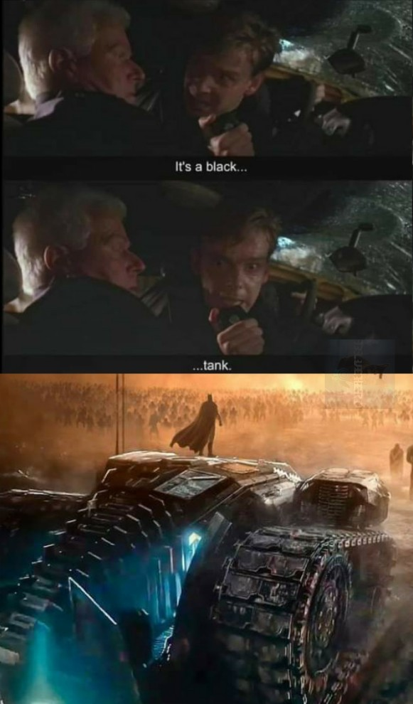 """They call it... THE BATMOBILE!"" - meme"