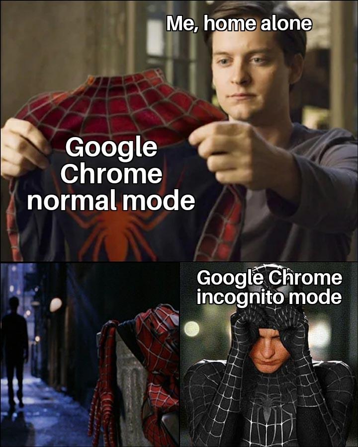 I'm going to the dark web - meme
