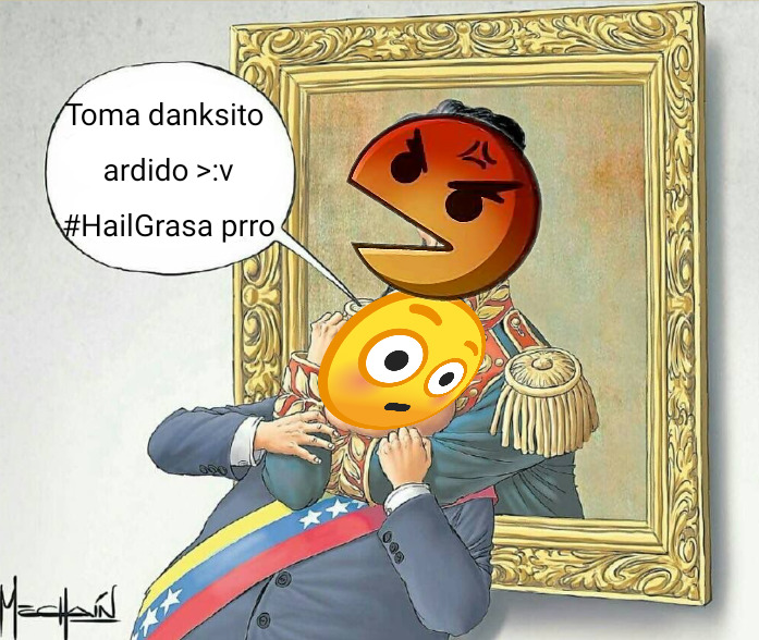 #HailGrasa danksito ardido >:v. Fuera de bromas, no soy papulince raza. - meme