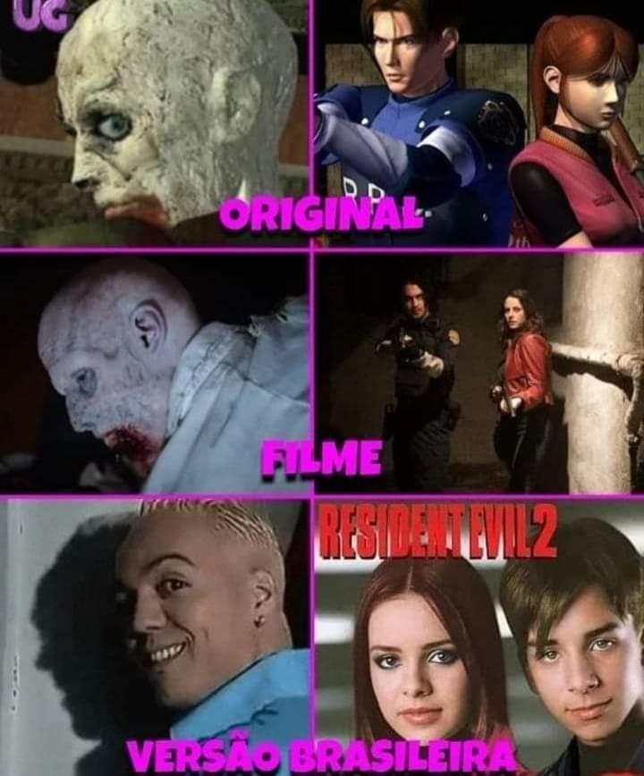 Resident evil - meme