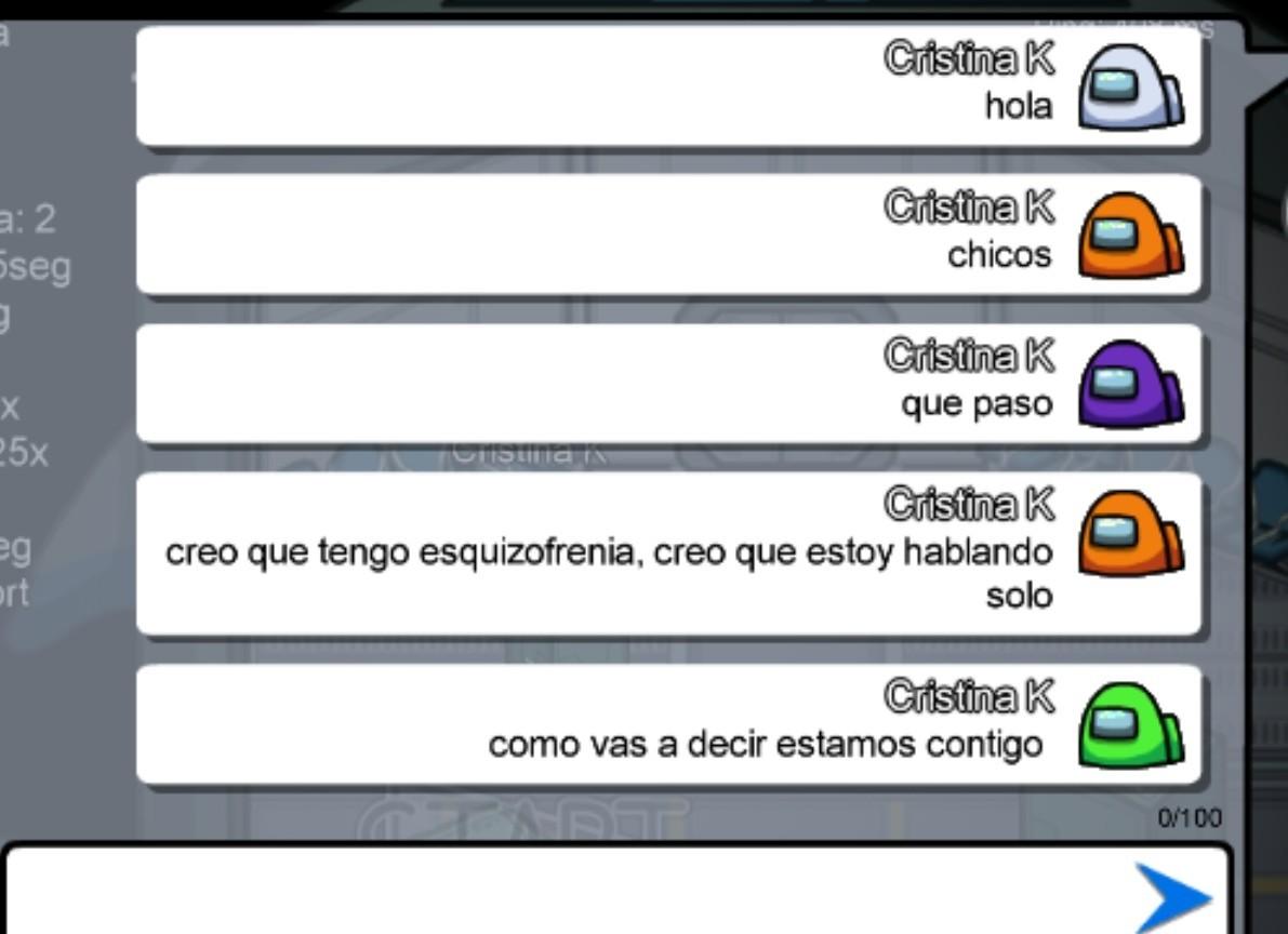 Cristina con esquizofrenia - meme