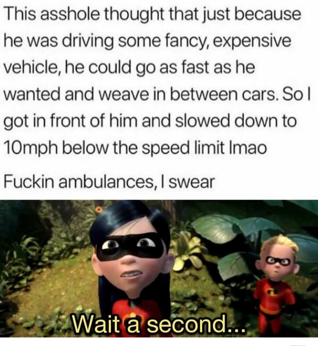 I swear - meme