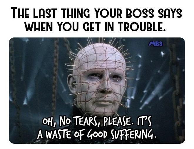 No Tears - meme