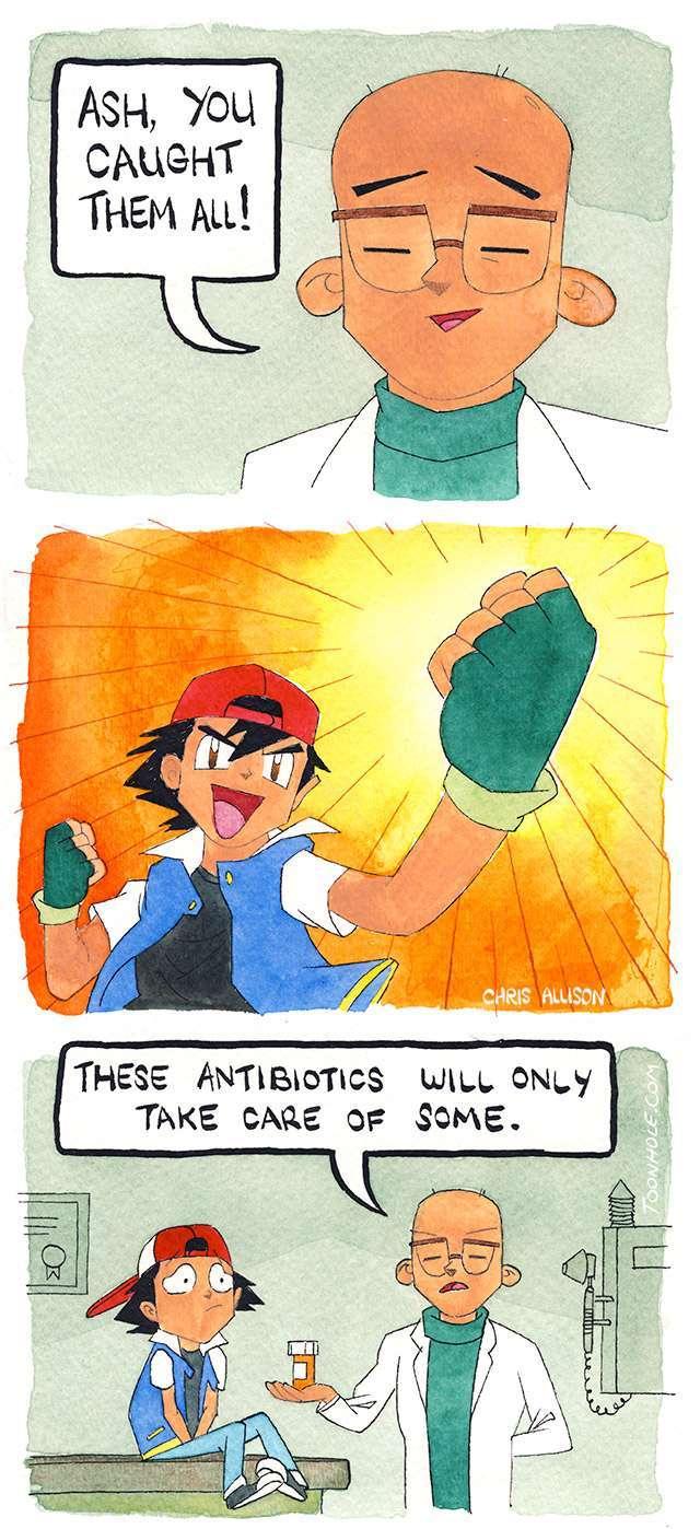 ash should have not caught them all - meme