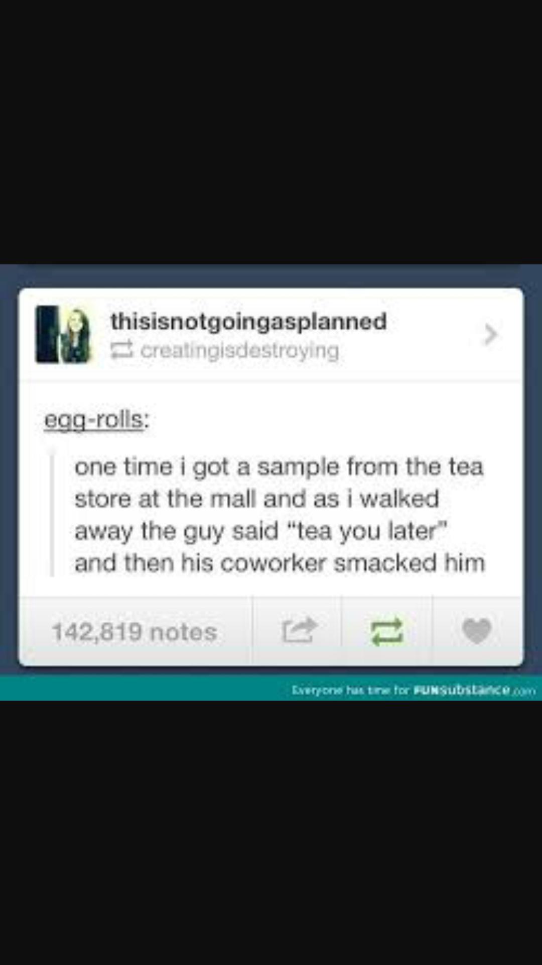 Tea - meme