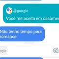 Quando nem o Google te quer
