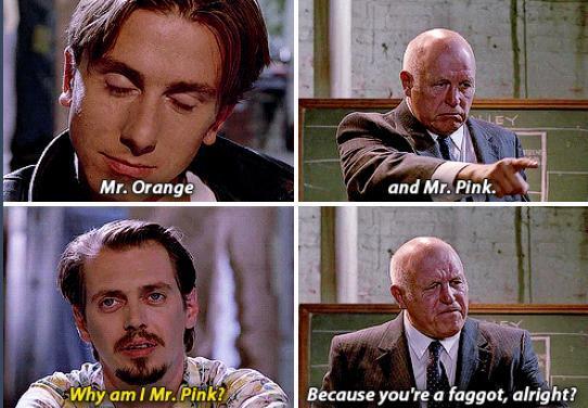 Movie is Reservoir Dogs - meme