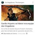 Agr sim GaviGod Arqueiro vai assumir seu lugar de respeito