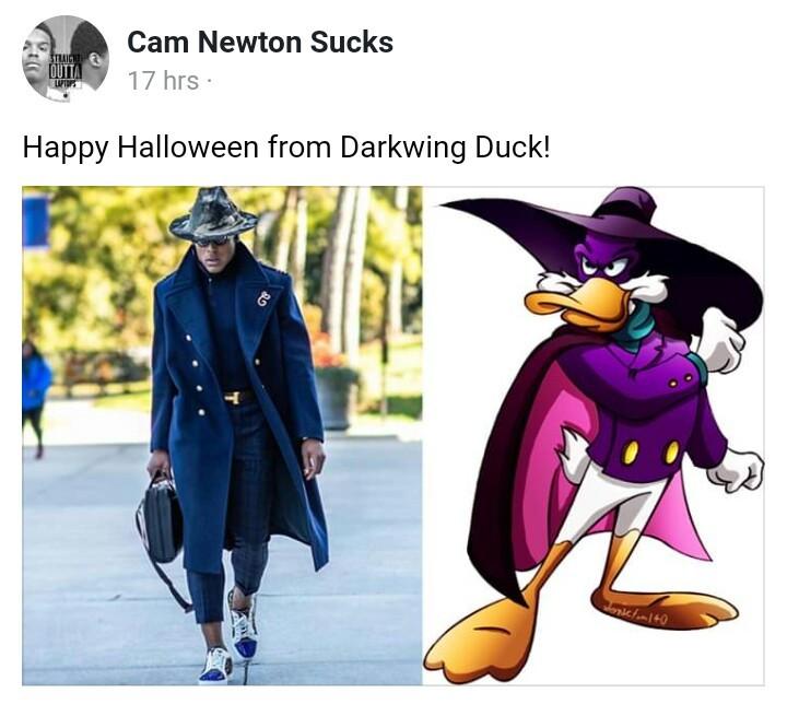 Darkwing Douchebag - meme