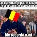 La pobre y desgraciada Bélgica