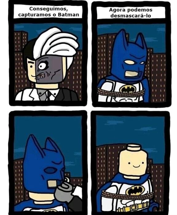 Lego Batman de ps2 era uma delícia - meme