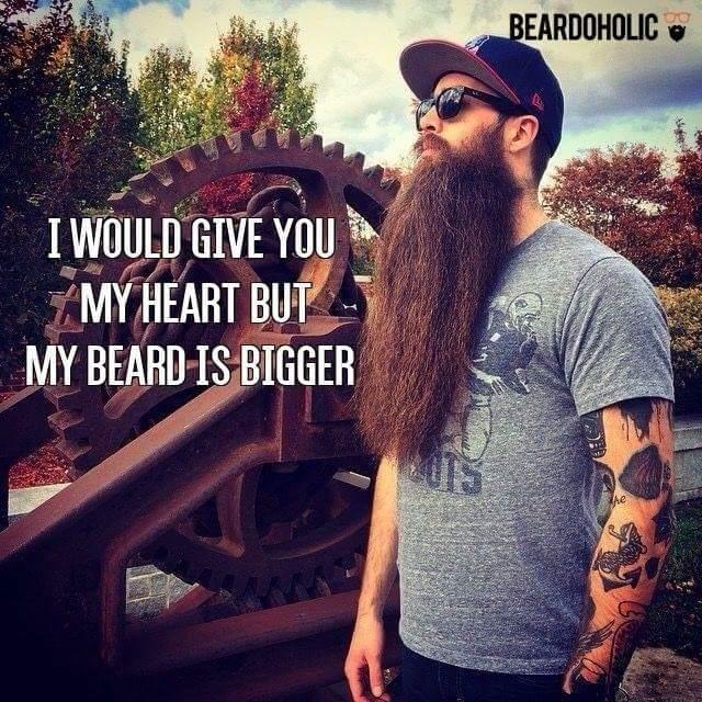 Fucking beards, bitch - meme