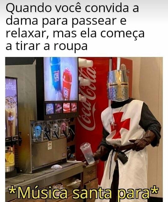 Santidade - meme