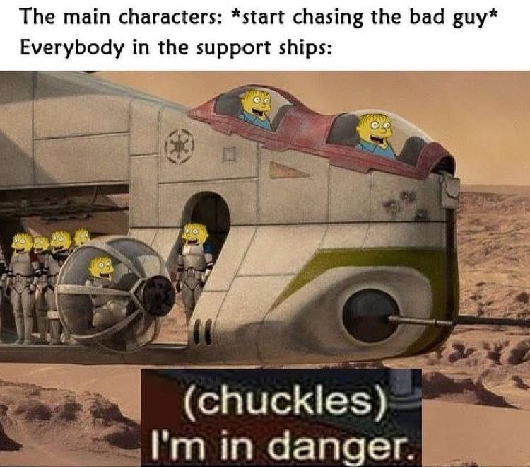 I'm in danger - meme