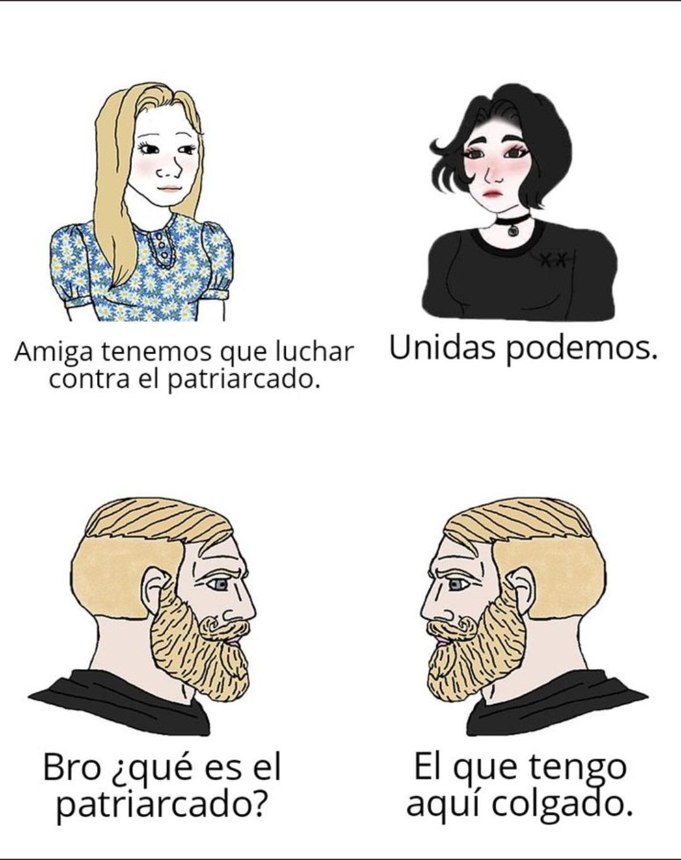 El patriarcado - meme