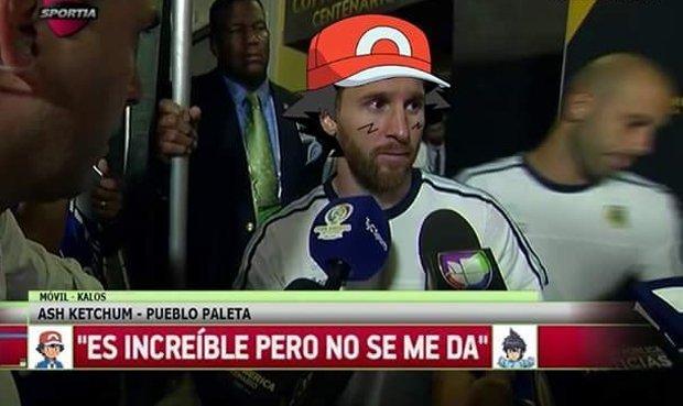 Messi 2.0 - meme