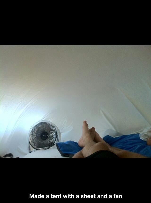 Foot cooler. - meme