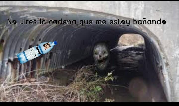 Baño - meme