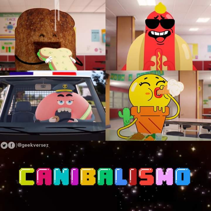 Canibalismo mano - meme