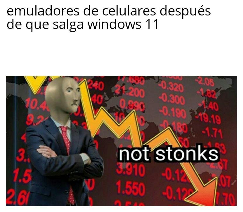 No dinero - meme