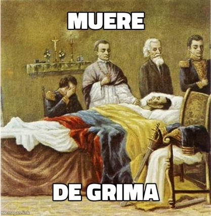 no ,simon bolivar no veas https://youtu.be/9OGuA1DSGJc - meme
