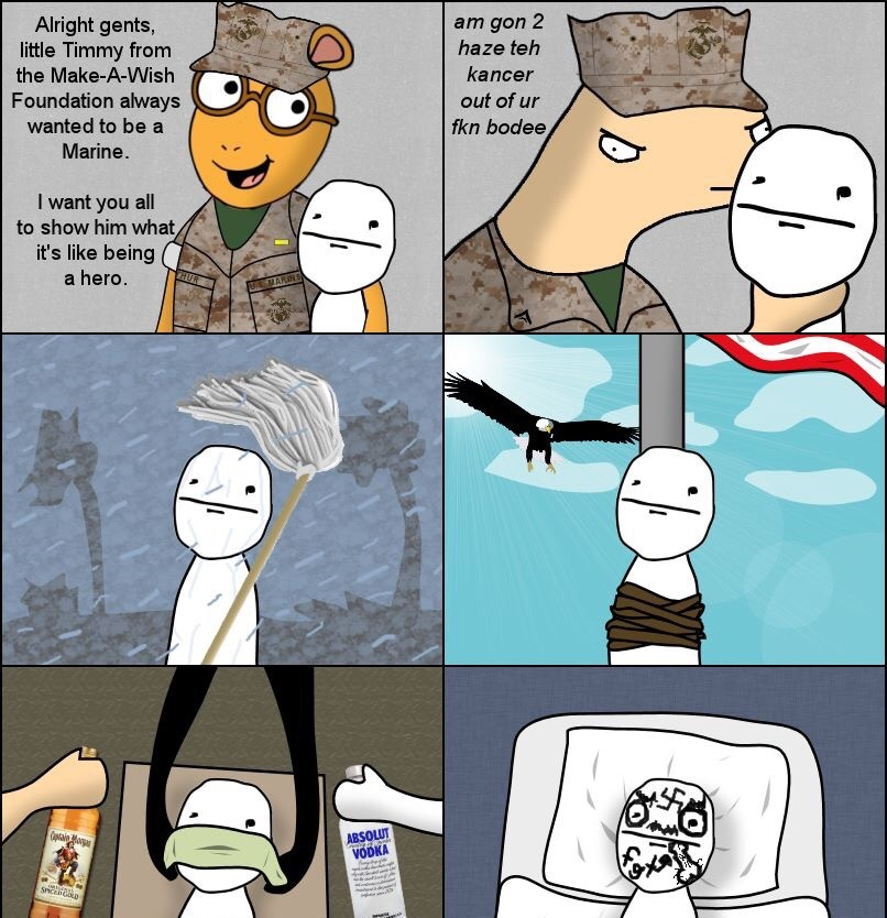 As a former Marine, I can confirm this - meme
