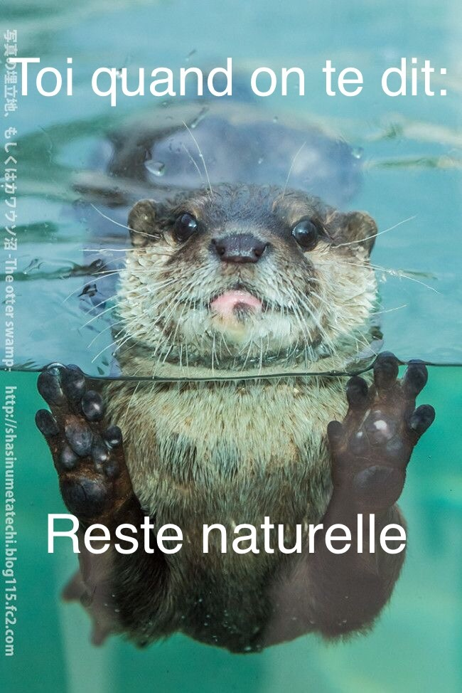 "reste ""naturelle"" - meme"