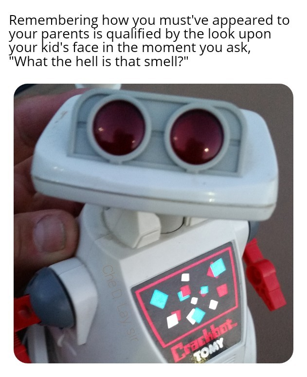 Crackbot looks to you for confirmation - meme