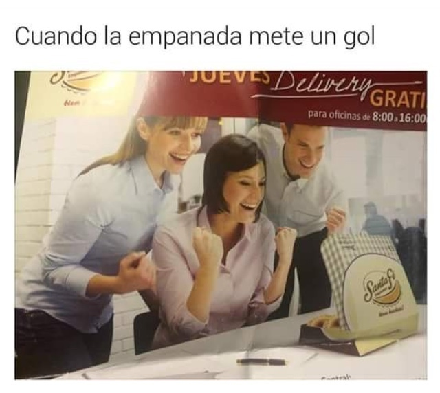 pinche empanada xdxd - meme