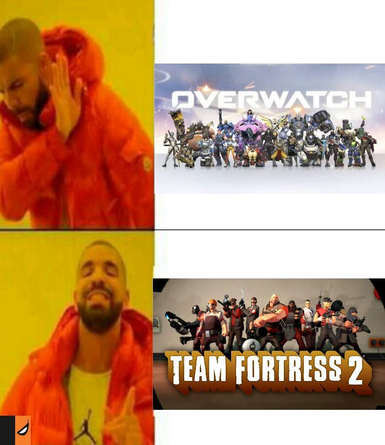 TF2 vs OW - meme