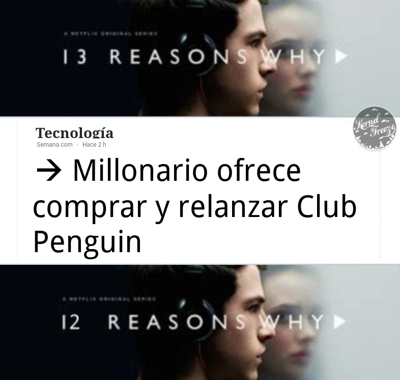 13 reasons why - meme