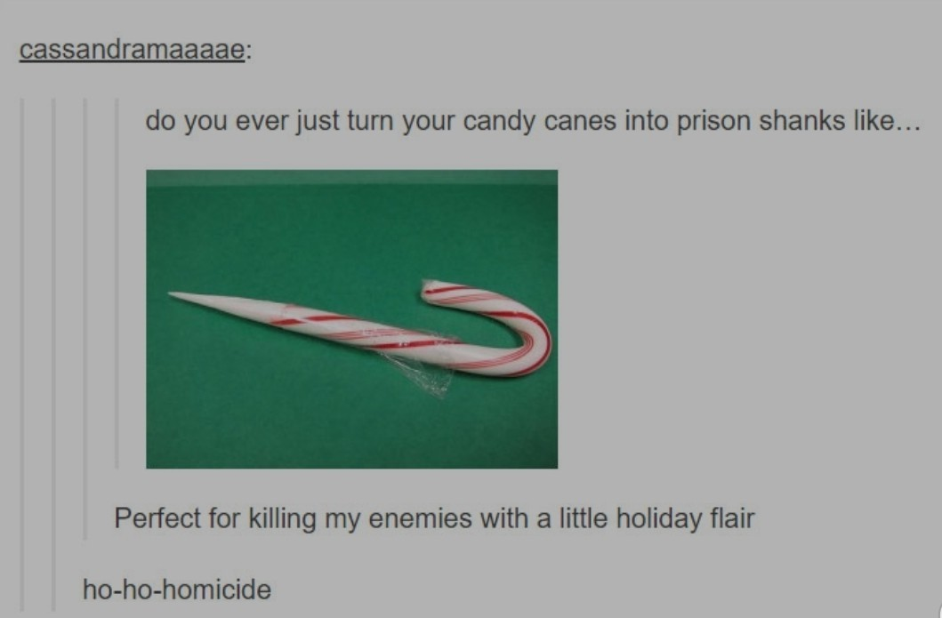 Elf prisoners shank - meme