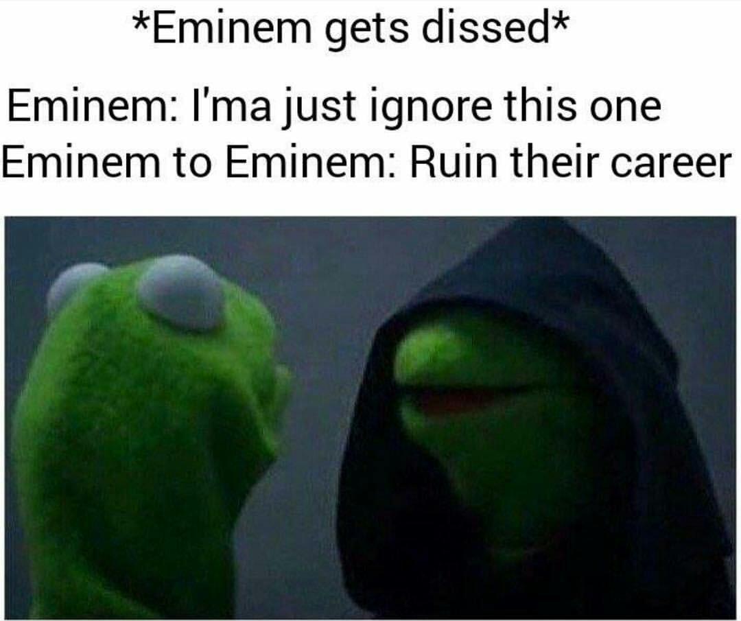 Eminem or Macklemore - meme