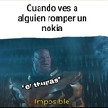 Los nokias son indestructibles