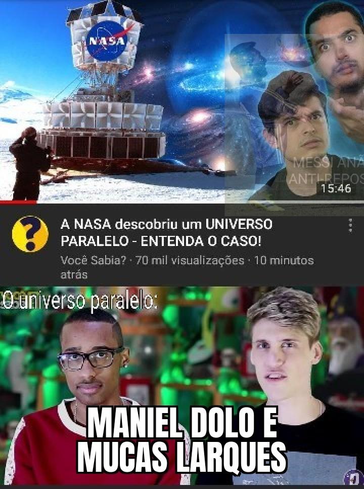 Maniel Dolo kkkkkkk - meme