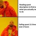 Reading hurts