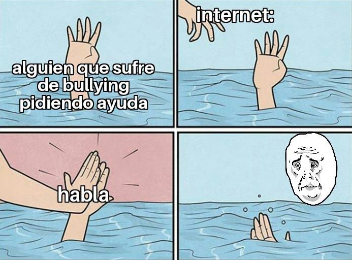 Aporta algo útil internet - meme