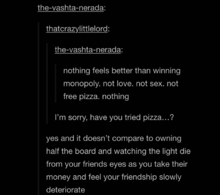 I would've taken the free pizza personally - meme