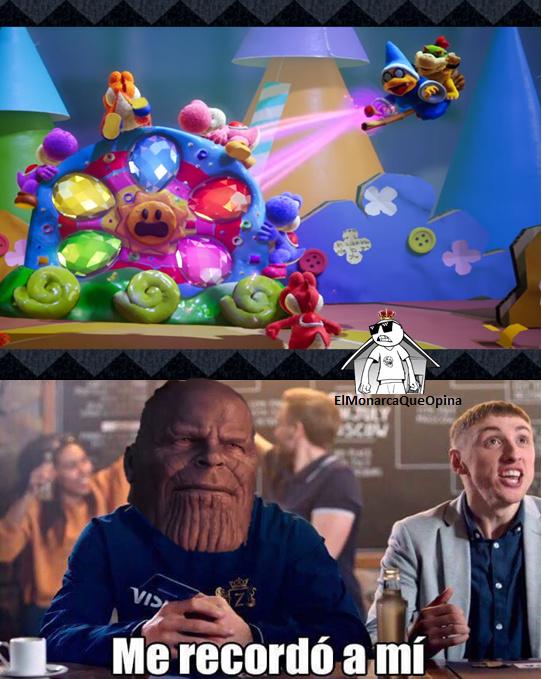 infinity war confirmado en nintendo - meme