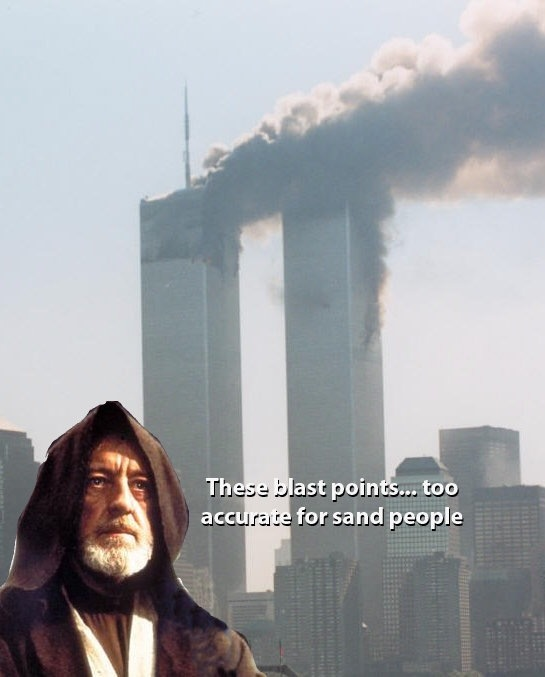 These aren't the sand people you're looking for - meme