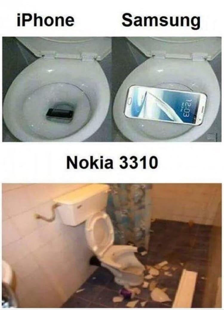 Nokia power - meme