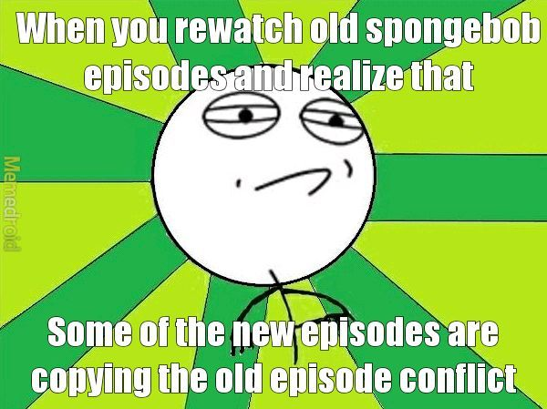 """A good example is the """"Pizza"""" Episode and then the newer """"Random land"""" Episode - meme"""